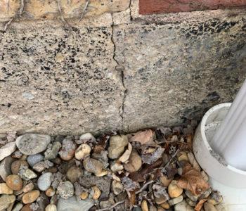 Reoccuring Cracks in Brick/Mortar